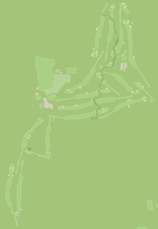 PGA Championship 2013 Interactive Golf Course Map - Oak Hill Country Club, East Course