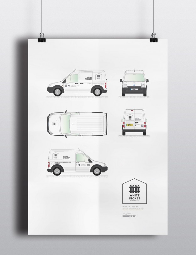 Vehicle Vinyl Design Poster